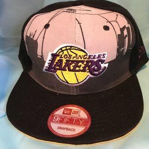 LAKERS BALL CAP HAT